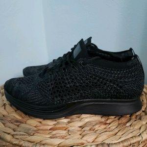 Mens Nike Flynit Racer Shoes Black 526628-009 Sz 7